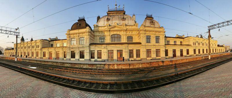 Жмеринский ж/д вокзал