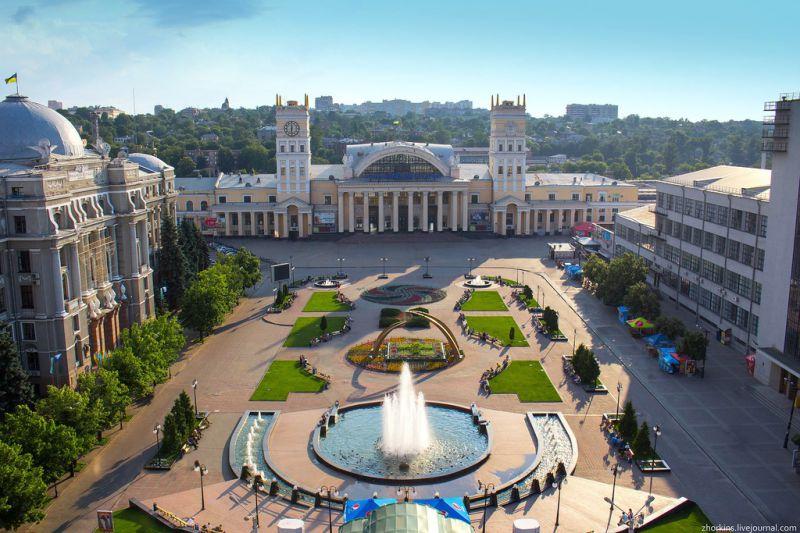 Ж/д вокзал Харькова