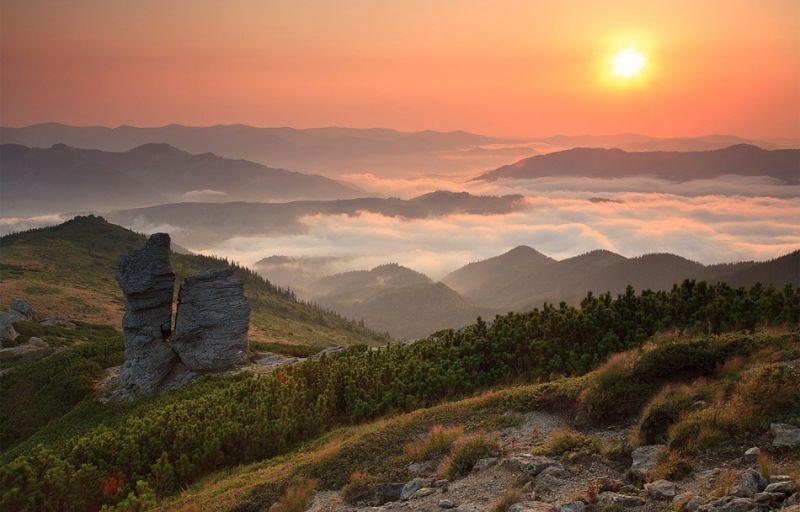 фото карпат природа