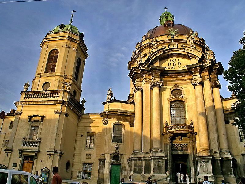 Upptäck Gamla stan i Lviv