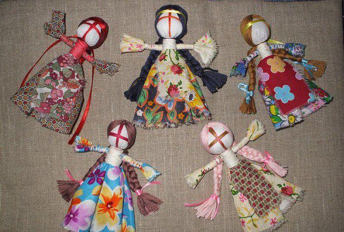Ляльки мотанки своими руками фото
