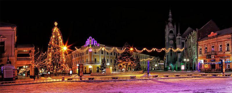Один день в Мукачево зимой