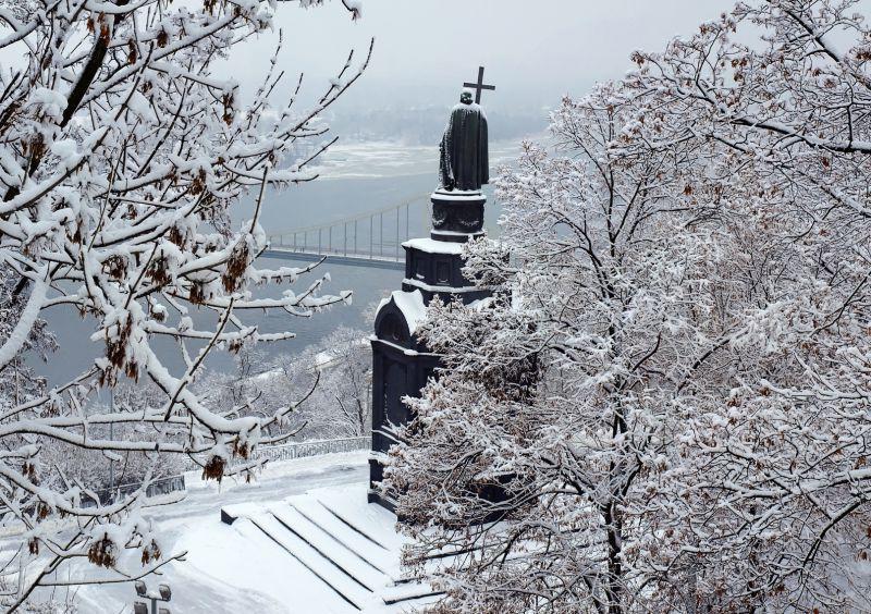 Зима В Киеве Обои