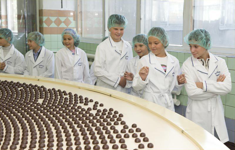 Шоколадная экскурсия