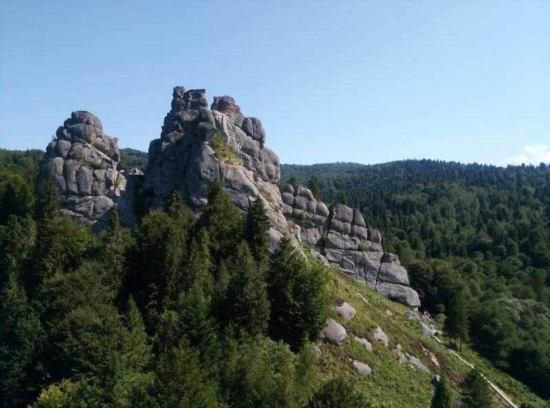 Урицкие скалы, Урыч — фото, описание, карта
