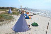 Кемпинг на Азовском море: 14 мест для отдыха в палатке