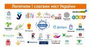 Логотипы и слоганы городов Украины: 30 брендов