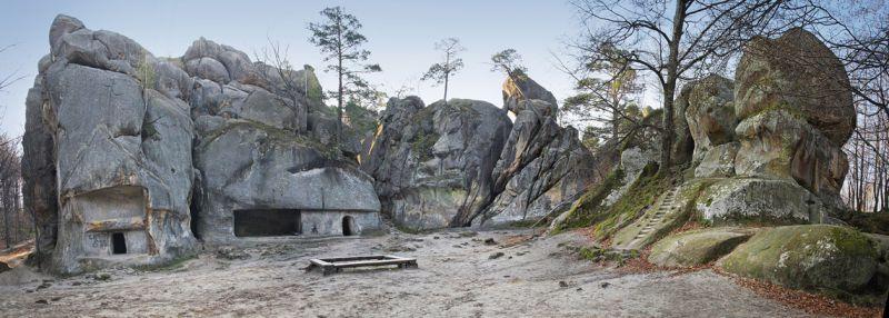 Скелі Довбуша Бубнище
