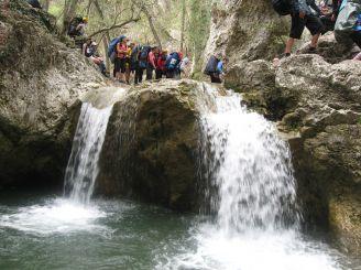 Купель Молодости в Кучук-Карасинском каньоне