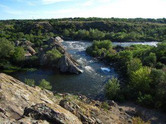 Порог Интэграл, на реке Южный Буг, пос.Мигия