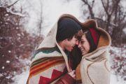 Тоннель любви и Луцк ко Дню Влюбленных