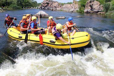 Рафтинг тур + экскурсия в каньоне Буки из Киева