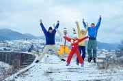 Новый Год в Карпатах и Черновцы
