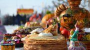 Празднование Масленицы на этно-хуторе в Петриковке