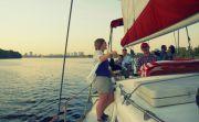 Киевский вечер на яхте