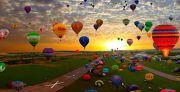 Фестиваль воздушных шаров в Каменце-Подольском + Хотин и Бакота!