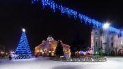 Новий рік в Мукачеві
