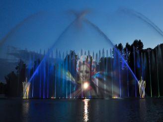 Вінниця – співаючі фонтани