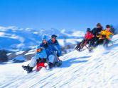 Буковель: лижі, санки і гуцульські забавлянки
