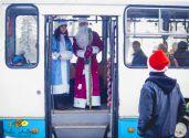 Казкова Новорічна екскурсія на тролейбусі
