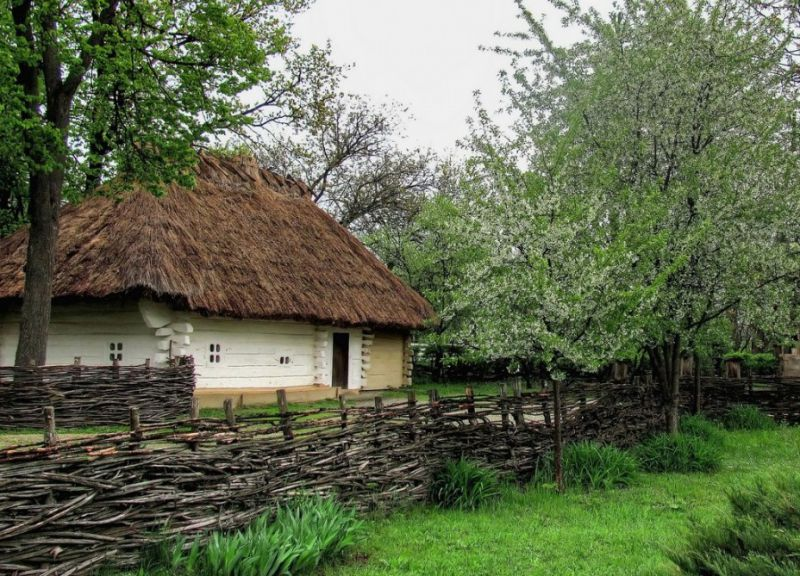 Видео фото украинского села