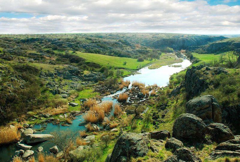 Неизвестные водоемы Украины лучших уникальные реки озера и  Актовский каньон