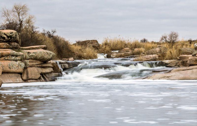 Шолоховський (Токівський) каскадний водоспад