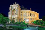 Экскурсия в Оперный театр (с посещением спектакля). Одесса