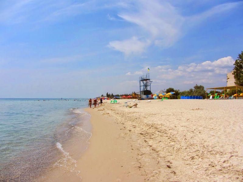 Пляж в лазурному 23