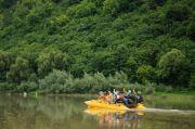 Сплав по Днестру на плоту «Днестровский каньон»