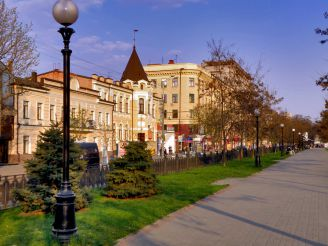 Экскурсия №1 По Днепропетровску: пешком по Карла Маркса