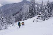 Зимний поход в Карпаты «Смерекова хата»