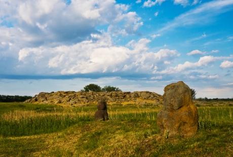 Заповедник Каменная Могила