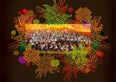 Концерт Национального академического ансамбля песни и танца «Гуцулия», Львов