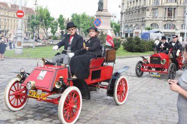 Фестиваль раритетных автомобилей «Леополис Гран-при» 2017, Львов