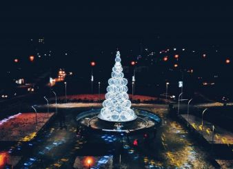 Новый год и Рождество 2018, Луцк