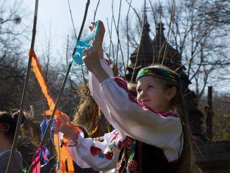 Призыв весны в Шевченковском гаю, Львов