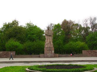 Памятник Ивану Франко во Львове