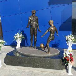 Monument to Bogdan Markevich, Vynnyky