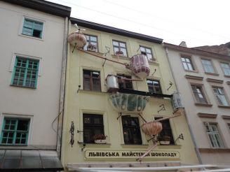 Мастерская шоколада, Львов