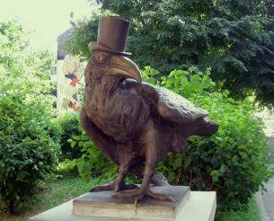 Скульптура «Ворон», Київ