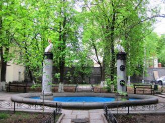Фонтан «Влюбленные пеликаны», Киев