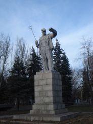 Памятник Сталевару, Запорожье