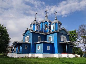 Успенська церква, Вільховець