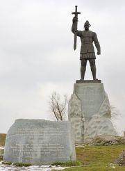 Пам'ятник Святославу Хороброму, Запоріжжя