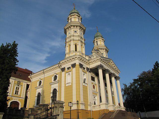 В мережі показали 3D-реконструкцію ужгородського кафедрального собору в ХІХ столітті