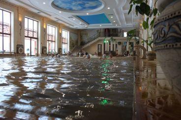 Термальний басейн «Жайворонок», Берегове