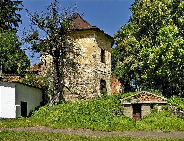 Довжанський замок, Довге Україна: фото, опис, на карті.
