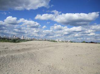 Київська Сахара, Київ