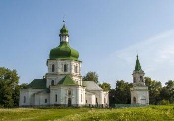 Воскресенская церковь, Седнев